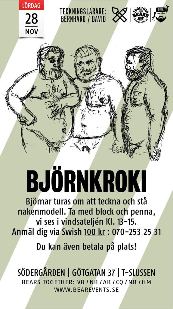 Nakenmodell Stockholm